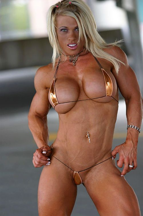 Naked muscle women boobs, pussy naked news
