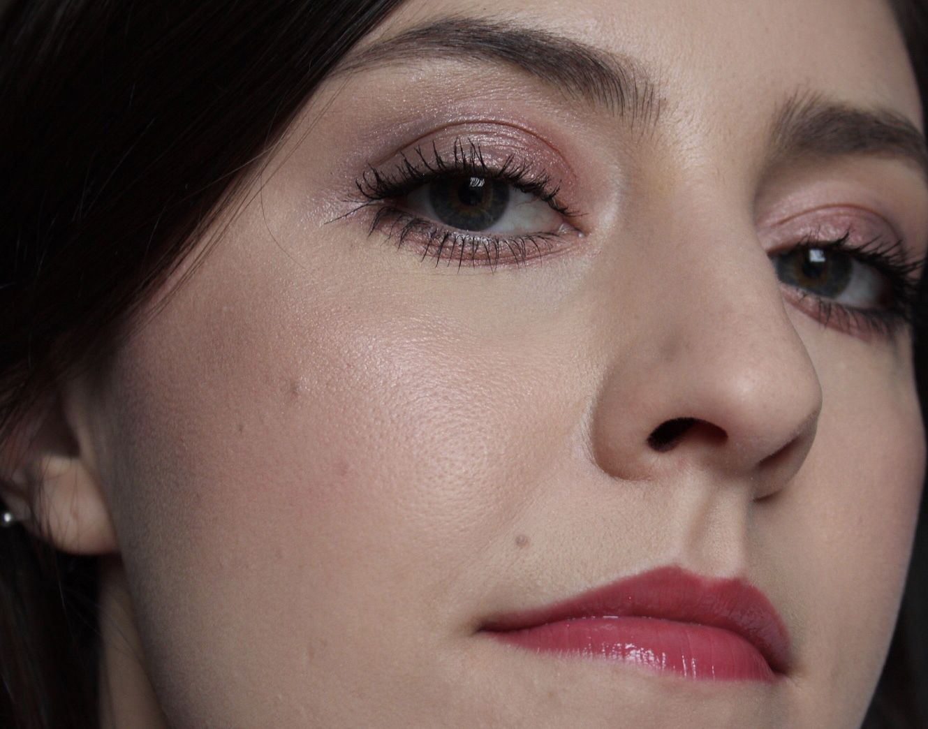 A Glossier Look Glossy makeup, Full makeup tutorial