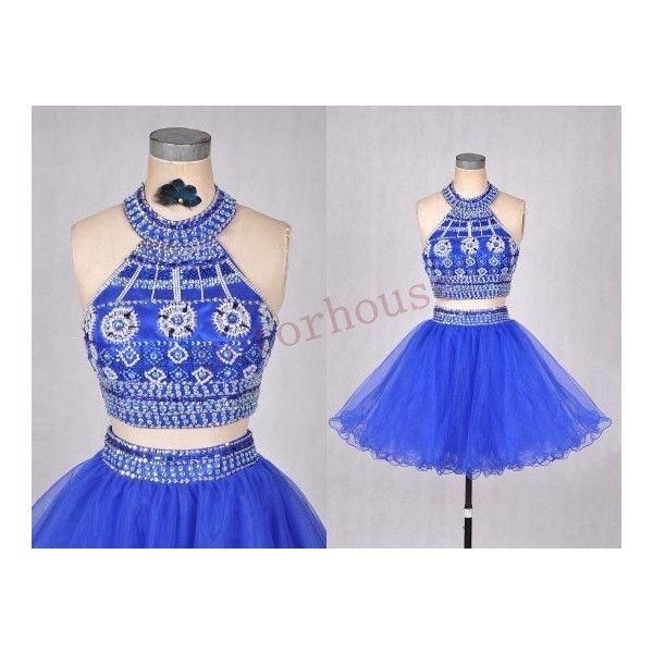 Dark Royal Blue Short Prom Dresses Wedding Dresses Formal Bridal ...
