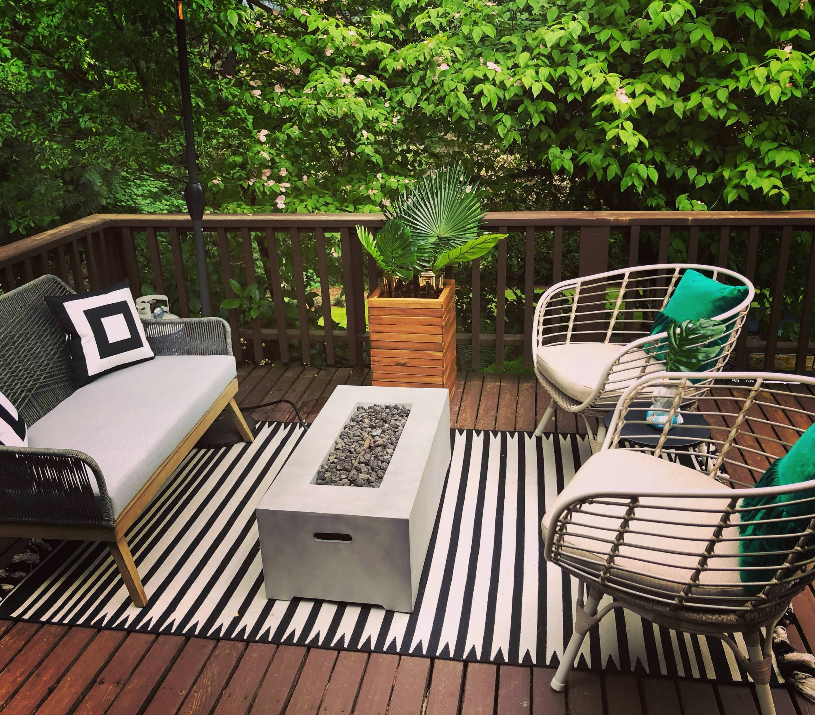 The Upper Level Deck Of My Portland