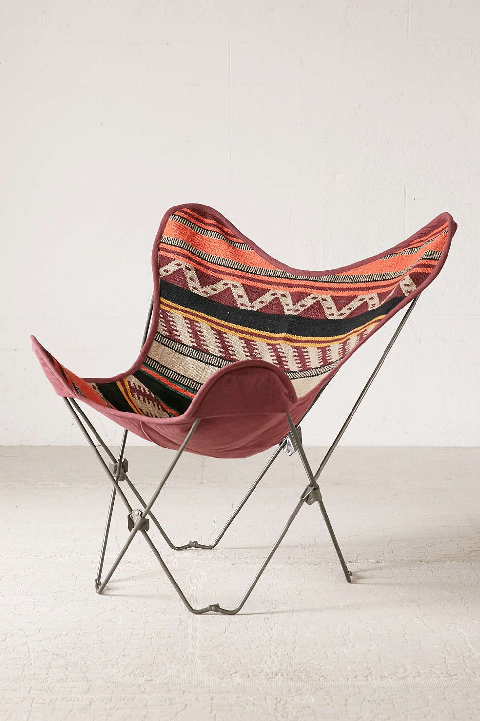 4040 locust leather butterfly chair cover butterfly