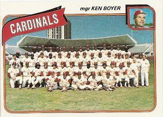 1980 Topps Baseball: #244 Ken Boyer