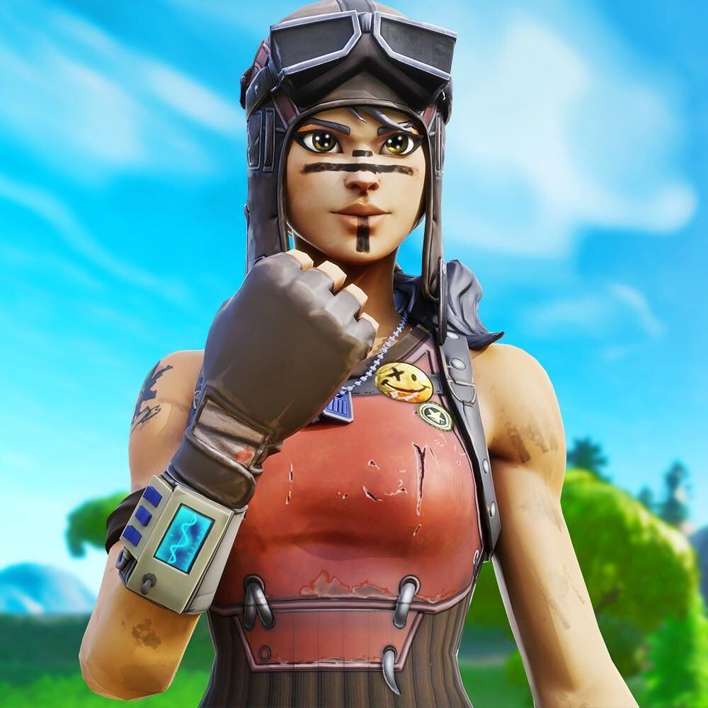 Renegade Raider Fortnite Raiders Gaming Wallpapers