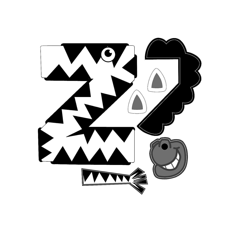 Z Is For Zebras Letter Z Craft Kit