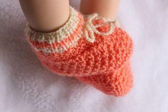 Photo of Kostenlose Strickanleitung für Babyschuhe