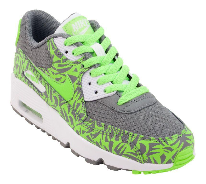 Juniors Nike Air Max 90 Print Mesh GS