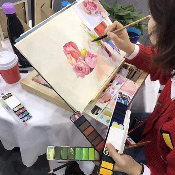 Portable Watercolor Paint from Apollo Box