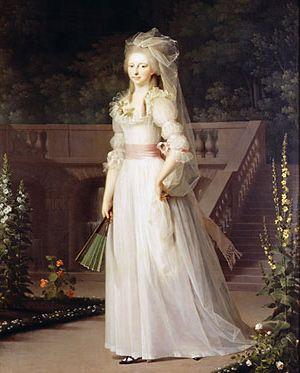 9-1-12  1787 - Princess Louise Augusta of Denmark - daughter of Queen Caroline Mathilde and Royal Physician Dr Struensee
