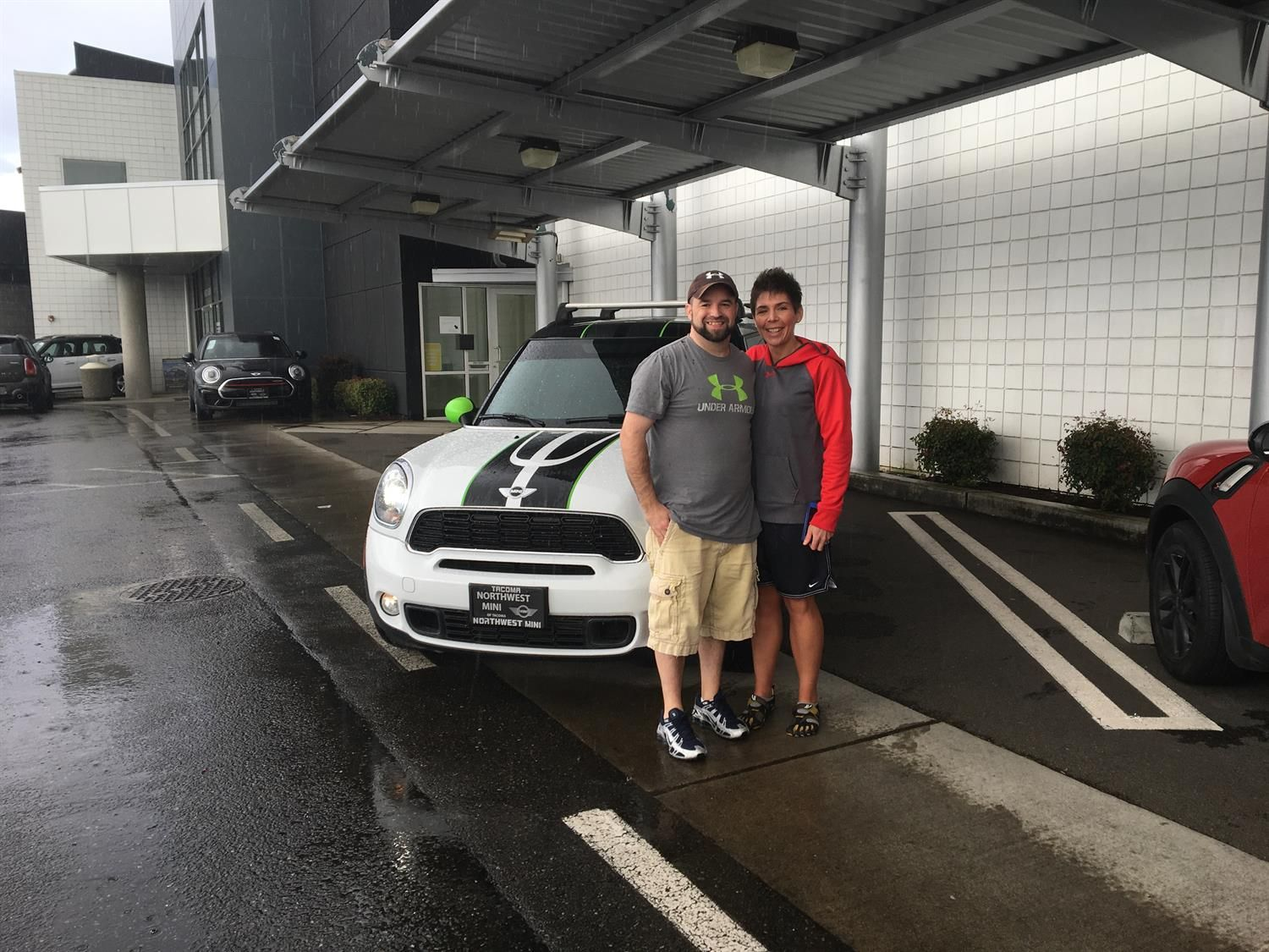 """Jason & Jaimee, wishing you many """"Miles of Smiles"""" in your 2014 MINI COOPER S  COUNTRYMAN!  All the best, Northwest MINI and Pamela Dal Lago."""