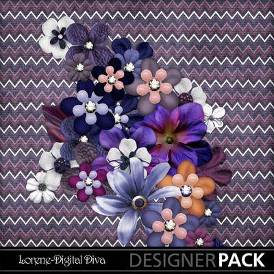 Check out these fabulous designs by #LoreneDigitalDiva! @mymemories.com #Diva #Craft #Scrapbook #Digital #Creative #Web-thumb-not_wellflowers
