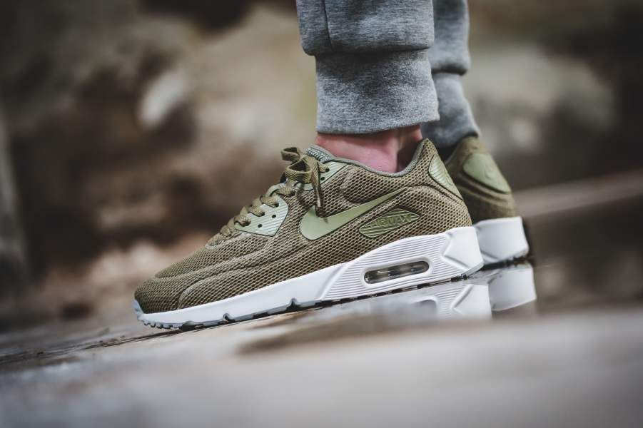 nike air max 90 breathe olive
