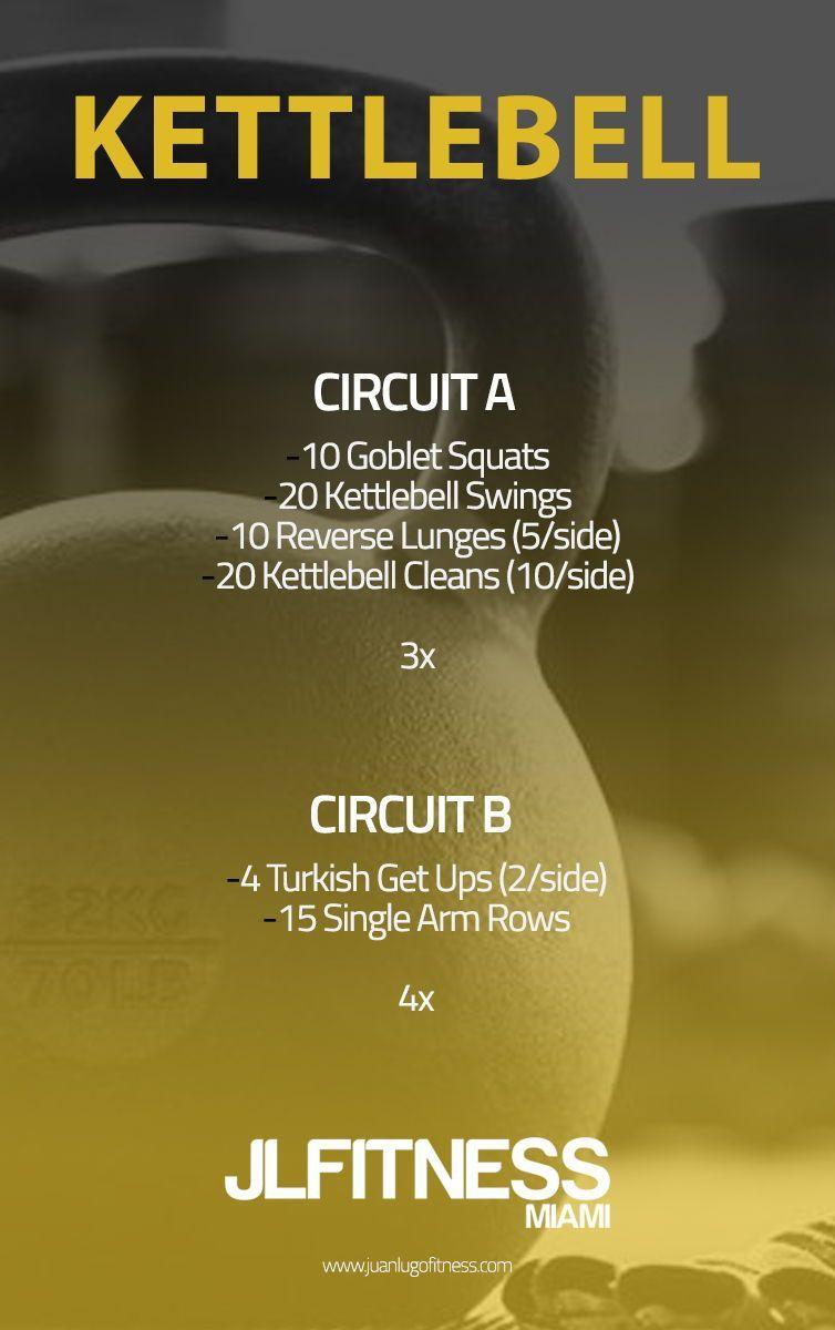 Circuito Kettlebell : Kettlebell wod hiit cardio kettlebellswings workout