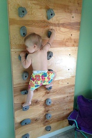 this incredible toddler could rock climb before she could walk creative ideas toddler. Black Bedroom Furniture Sets. Home Design Ideas