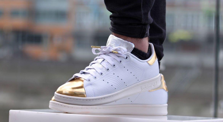 adidas stan smith gold metallic