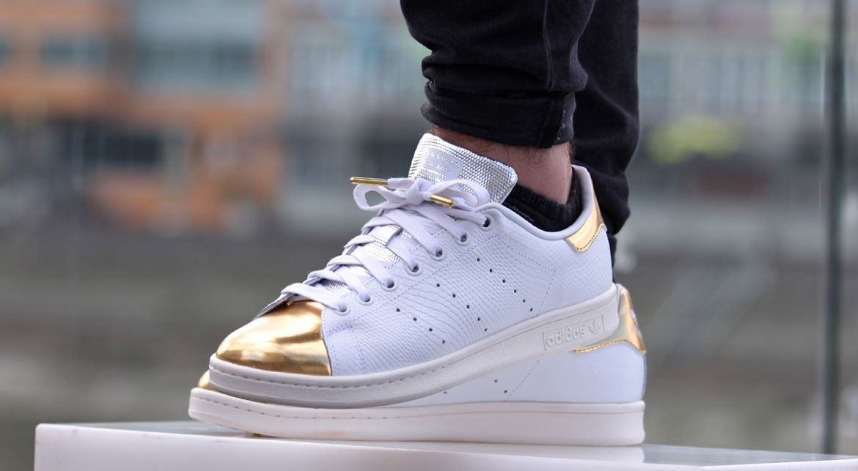 adidas stan smith rose gold toe
