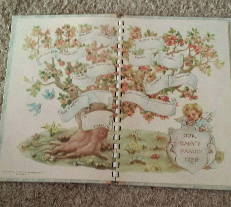 Catholic Baby Record Book 1945 + 1966 baby magazine MUST SEE!!!! #babyrecordbook