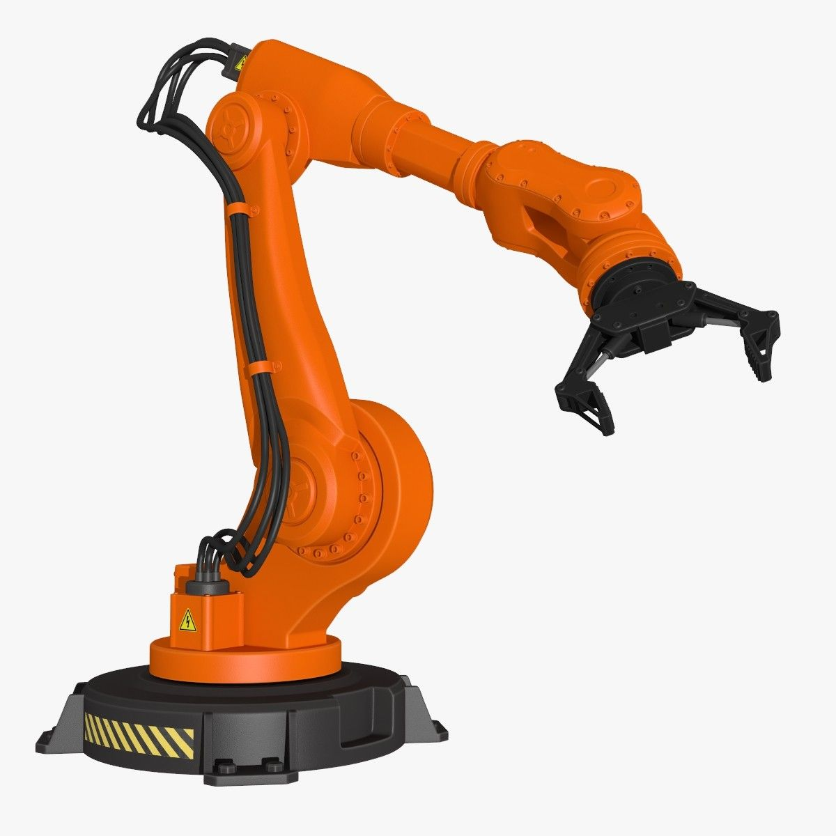 Fbx Industrial Robot Modeled Armadura Corporal