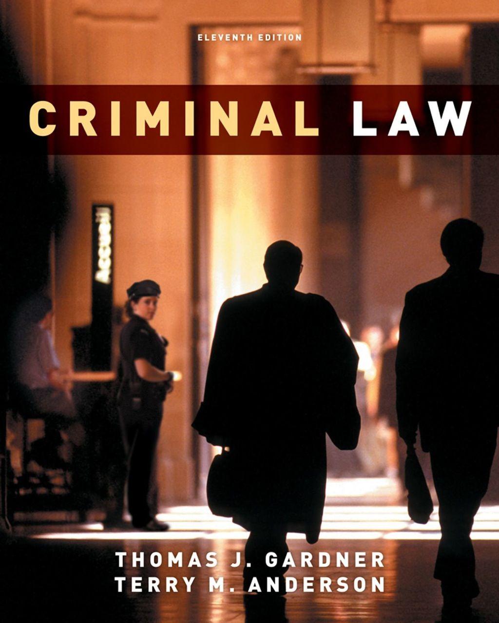 Criminal law ebook rental with images criminal law
