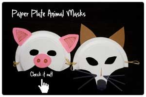 Paper Plate Animal Masks - Peapod Labs  sc 1 st  Pinterest & Paper Plate Animal Masks - Peapod Labs | Things to occupy the kids ...