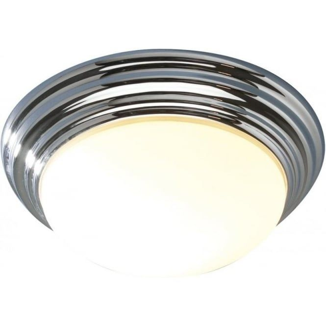 Barclay small flush bathroom ceiling light with a chrome surround barclay small flush bathroom ceiling light with a chrome surround an ip44 rated bathroom light that fits close to the ceiling making it a good choice for mozeypictures Choice Image