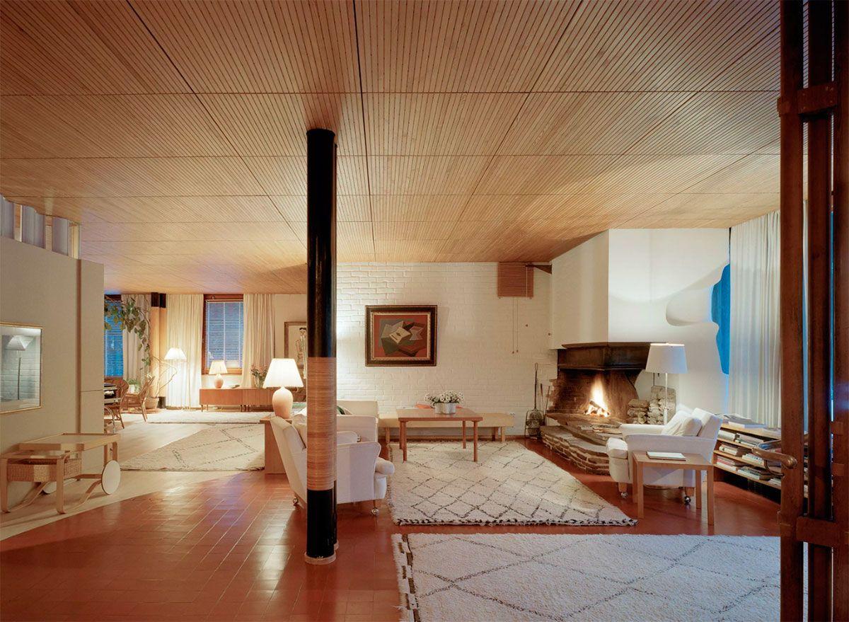Villa mairea alvar aalto living room pinterest - Villa mairea alvar aalto ...