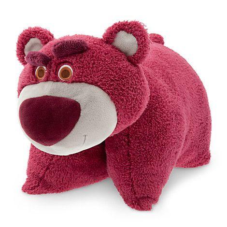 Lotso Pillow Pal Pet Plush Scented Toy Story 3 Walt Disney World