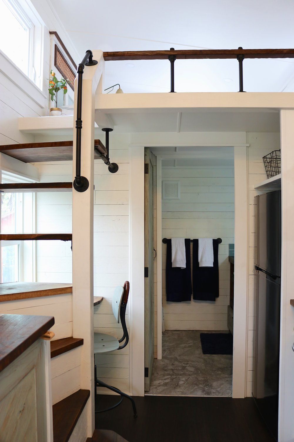 Tiny Getaway By Handcrafted Movement Tiny House Loft