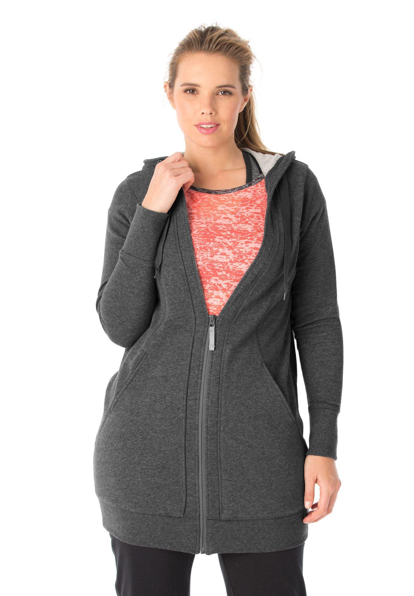 90dbb7be946 Tunic hoodie jacket by fullbeauty SPORT™