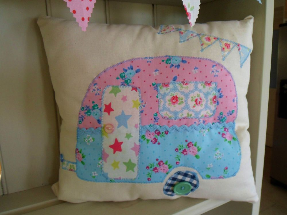 Cath Kidston Patchwork Cushion Kit Beginners Sewing Craft Kit ALL INCLUDED