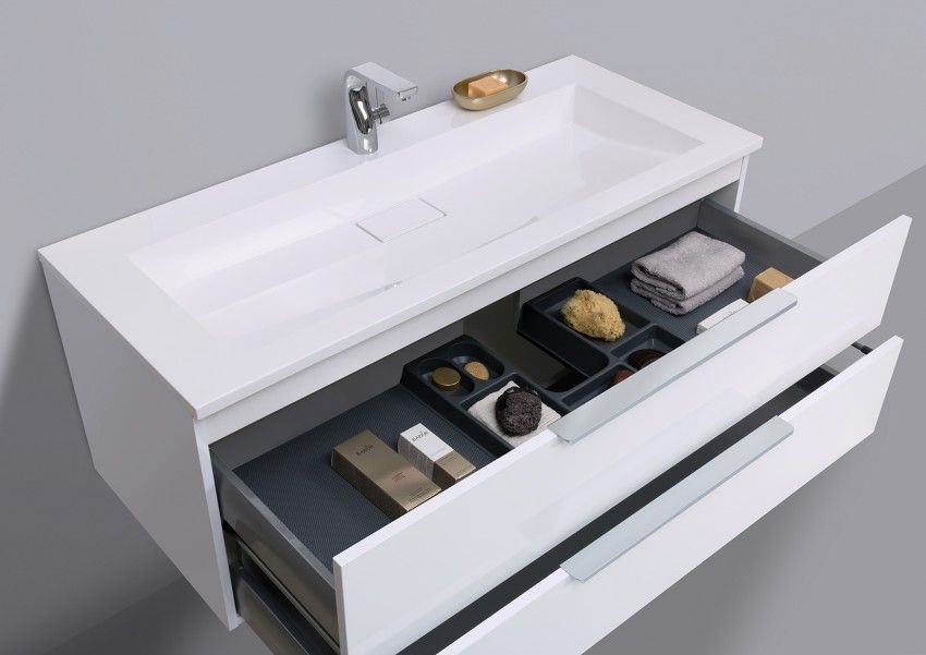 Designbaeder Com Unterschrank Mineralguss Waschtisch Waschtisch