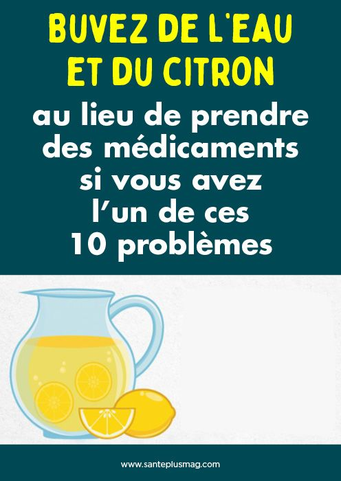 Épinglé par Santé+ Magazine sur Santé | Médicament, Boire