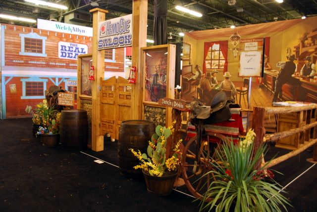 Western Props Texas Props Trade Show Booth Prop