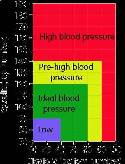 Blood Pressure Chart Natural Supplements, Foods, and Herbs for - blood pressure chart