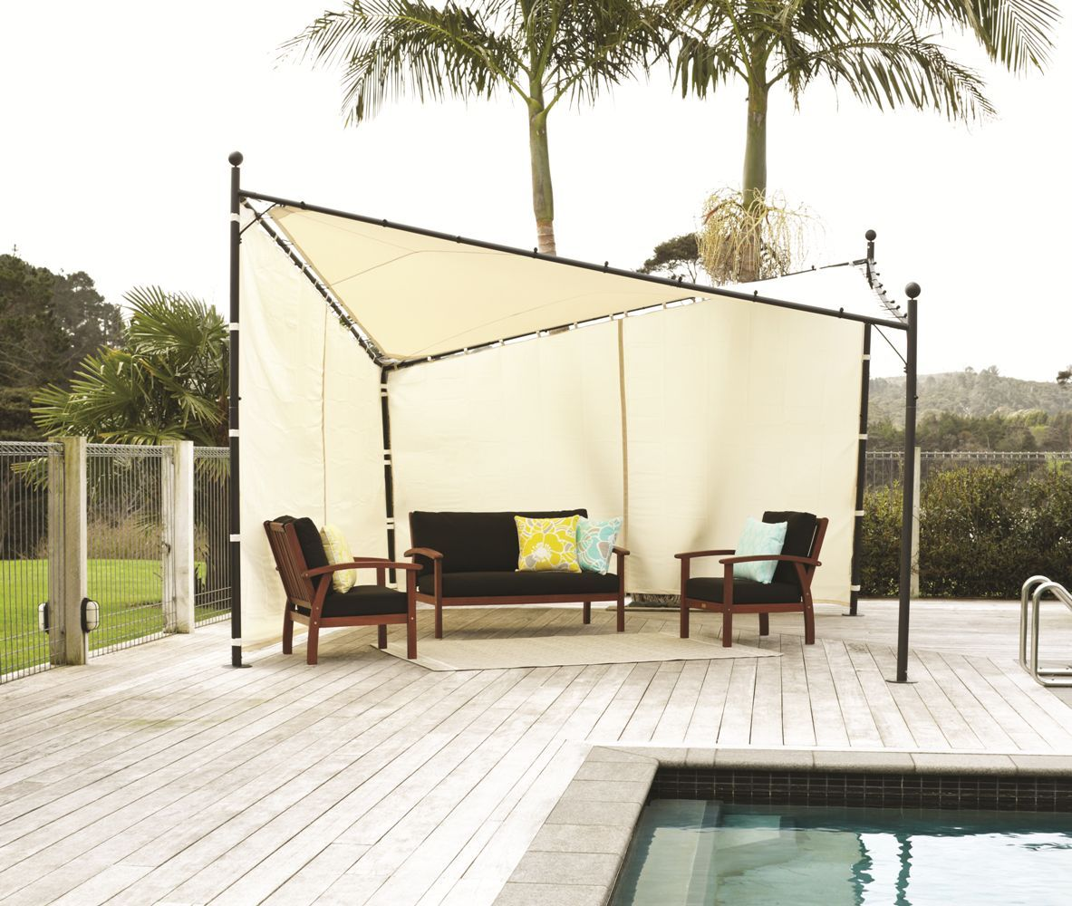 Butterfly Gazebo - 4m Square Gazebo Harvey Norman | New Home | Pinterest