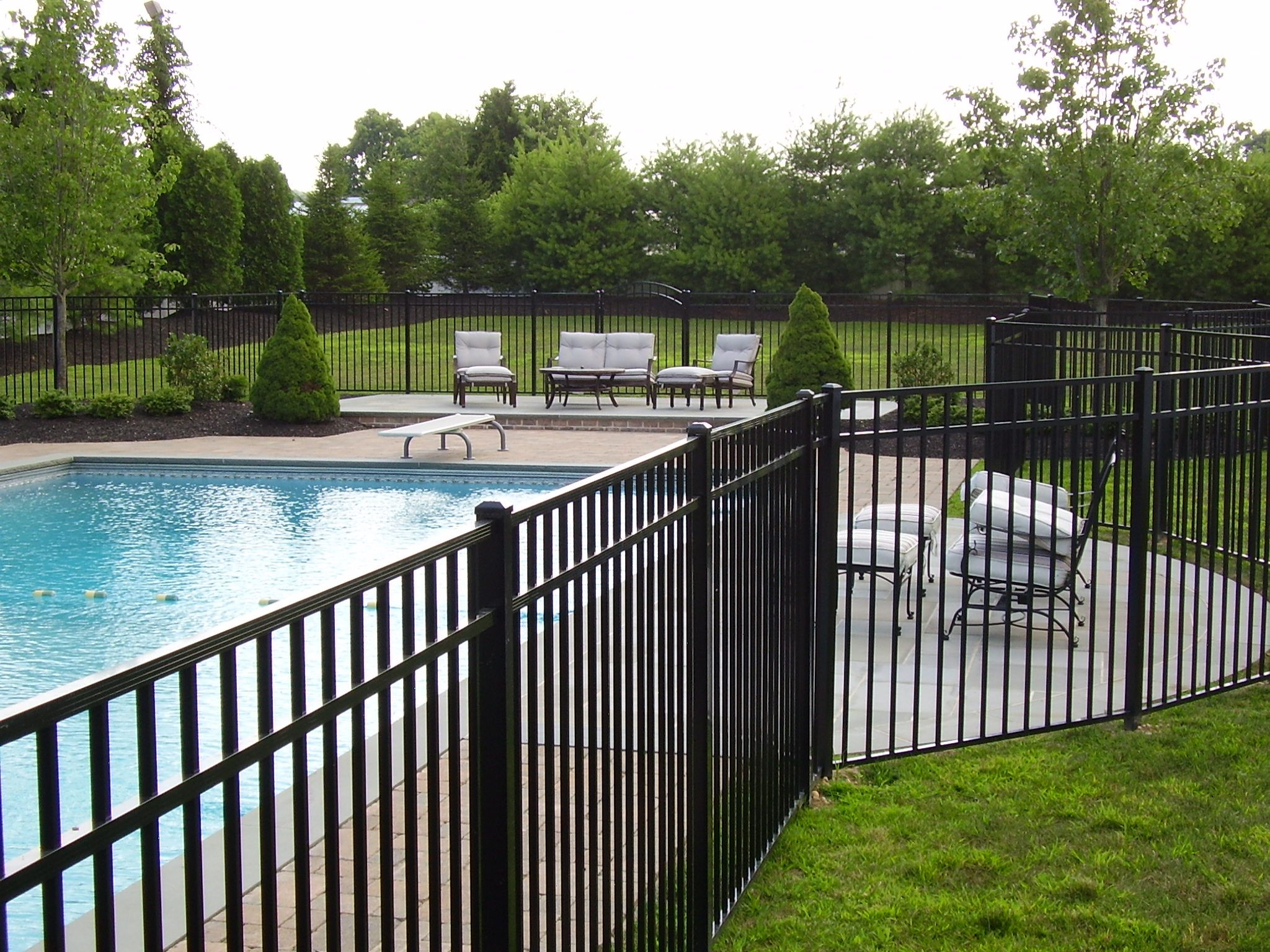 5 Opal Style Aluminum Pool Fence Aluminum Pool Fence Pool Fence Safe Swimming Pool