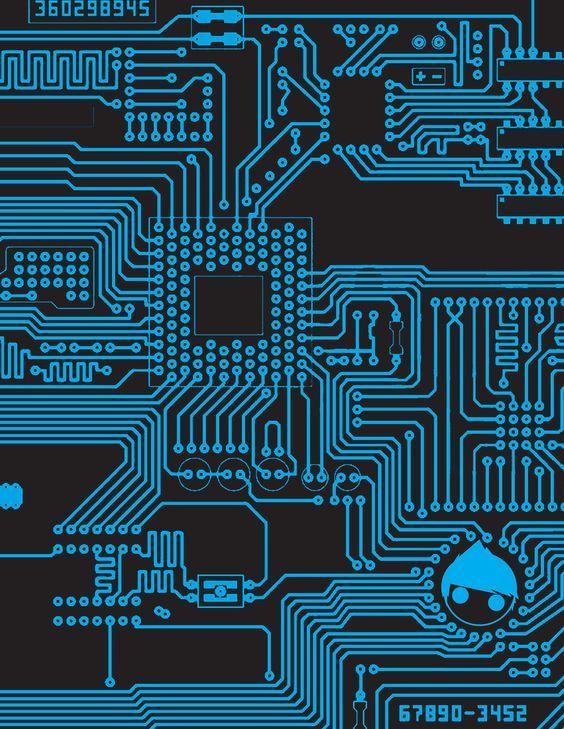 circuit board   CIRCUIT board by KIDdynasty:   数字形   Pinterest ...