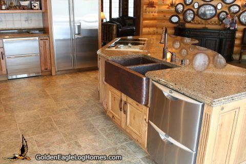 Copper Apron Sink And Stainless Steel Appliances Apron Sink Log