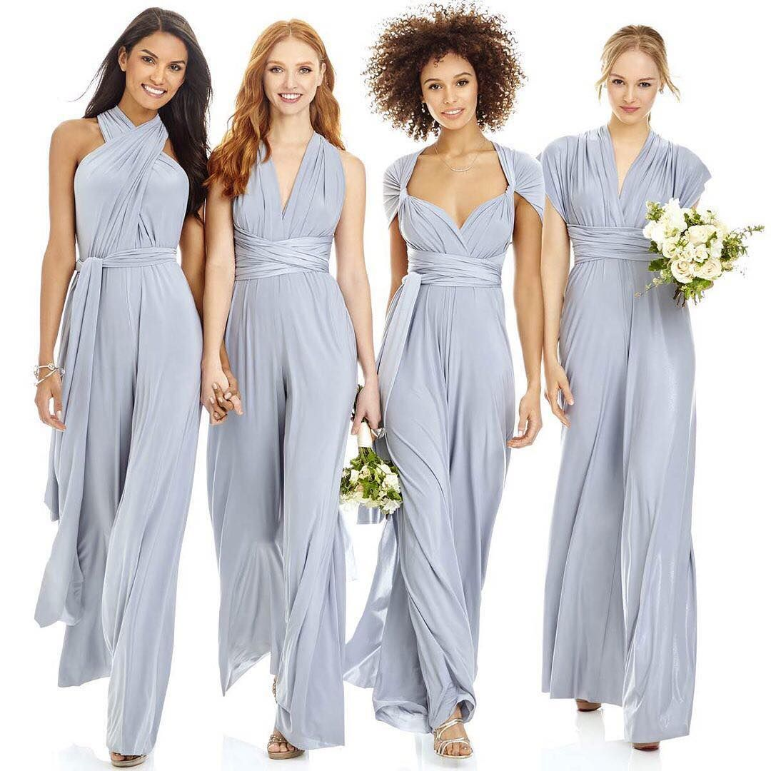 e468031df129 Twist and shout over these @dessygroup pantsuits for your bridesmaids. One  look and the flexibility of mix and match styling to LOVE!!