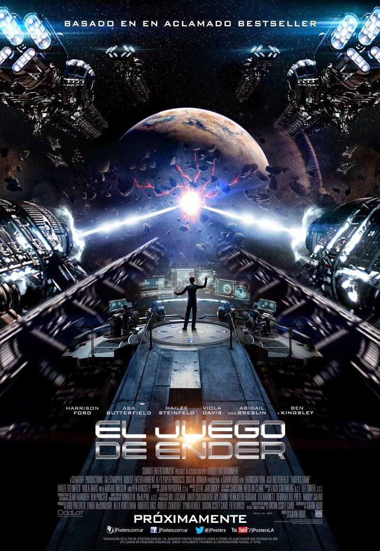 Cine Musica Rosalabrandero El Juego De Ender Comentario Ender S Game Ender S Game Movie Movie Posters