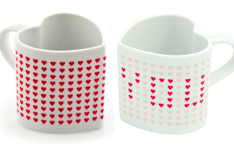 Ya llega San Valentín: taza de té con mensaje escondido (@regalador)