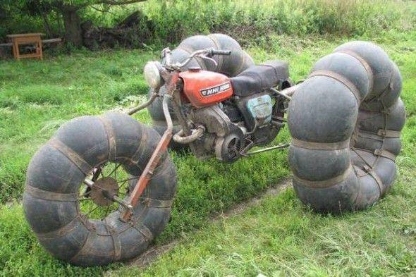 Moto pneuzão