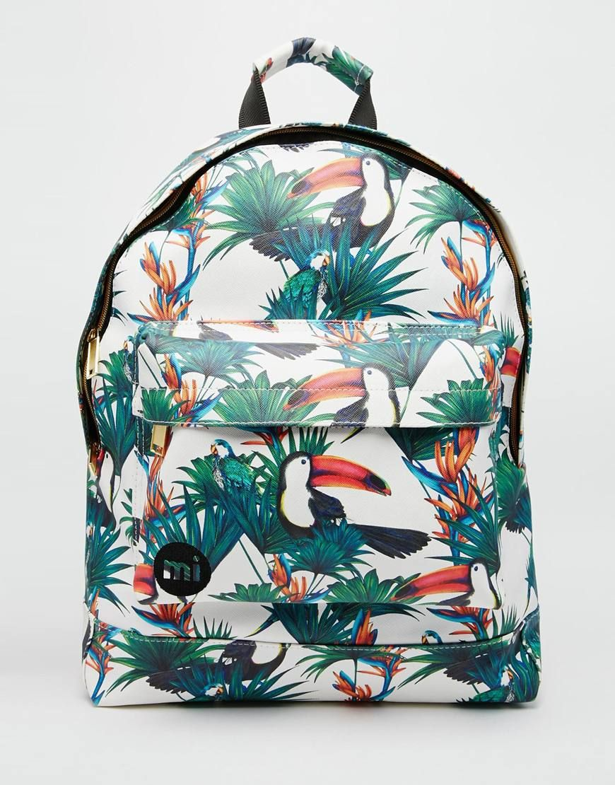 Mi-Pac+Backpack+with+Tucan+Jungle+Print  a32e355b2682f