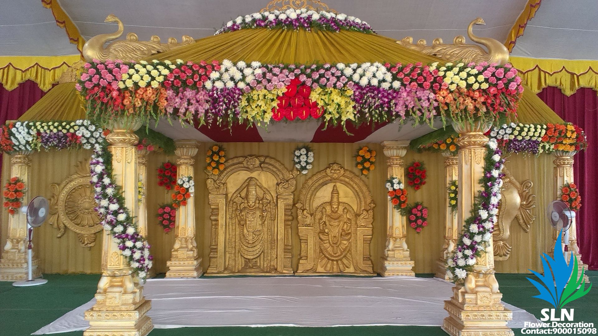 Mandaps 3 | Stage decorations, Indian wedding decorations, Wedding ...