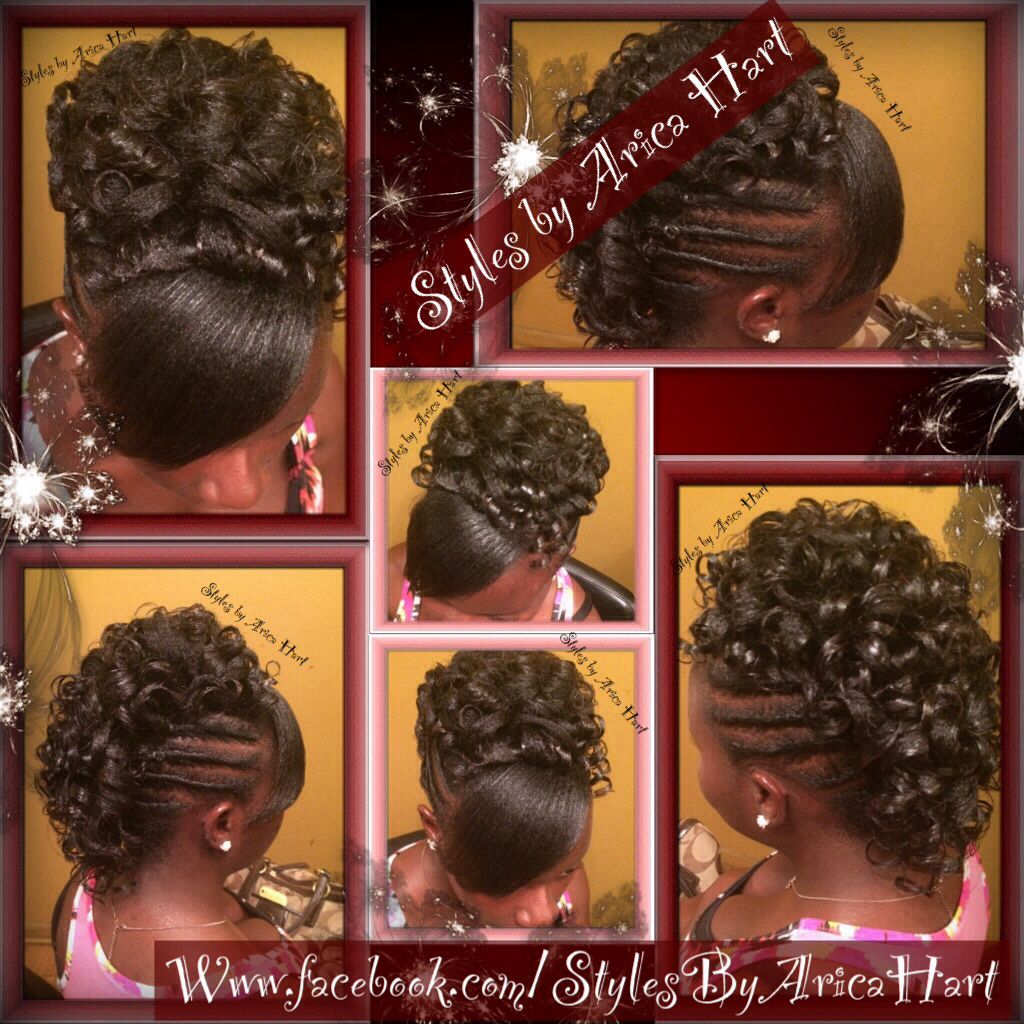 A mohawkrod hair styles by arica harthair u beauty black girls