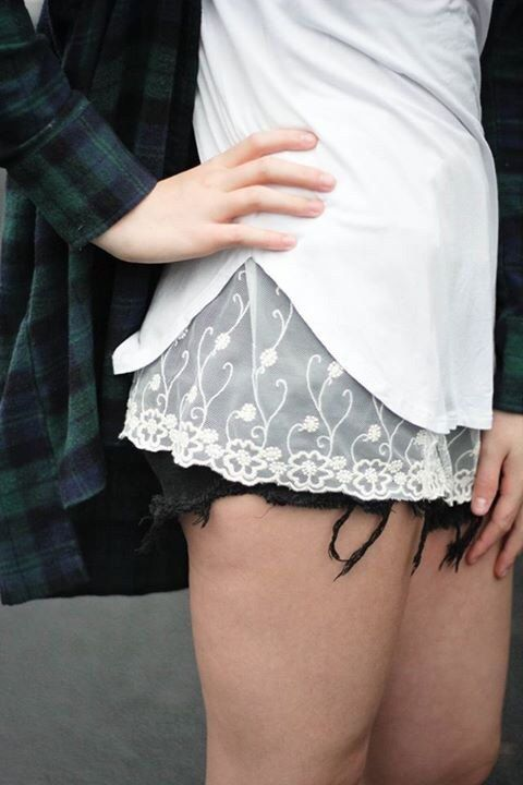 Cream Floral Lace Extender by dainteedesigns on Etsy