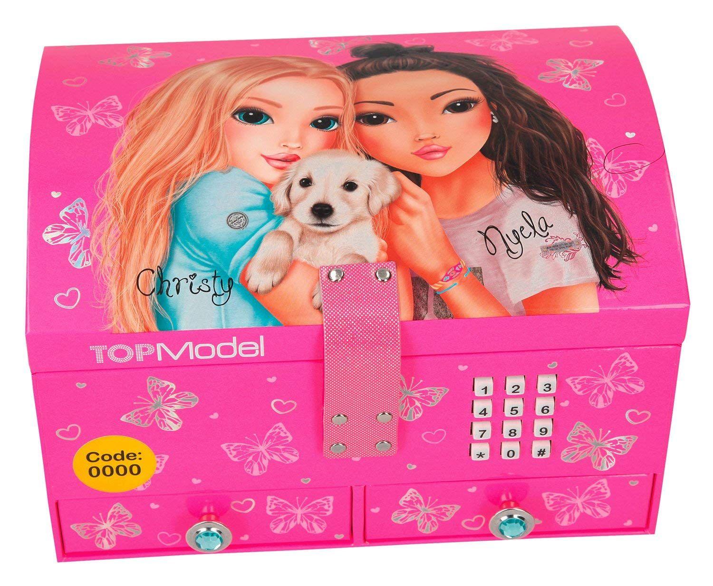 Depesche 8764 Joyero Top Model Con Código Y Sonido Rosa Amazon Es Juguetes Y Juegos Juguetes Para Niñas Regalos De Cumpleaños Para Niños Ropa Navidad Bebe