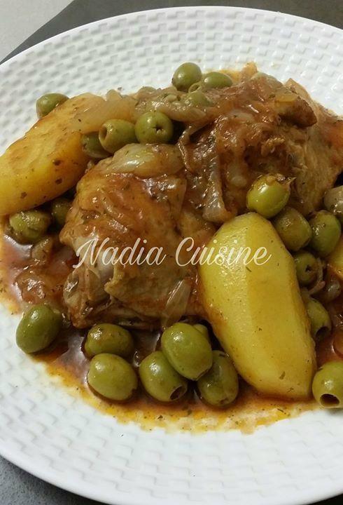 Cuisses de poulet aux olives et pommes de terre COOKEO ...