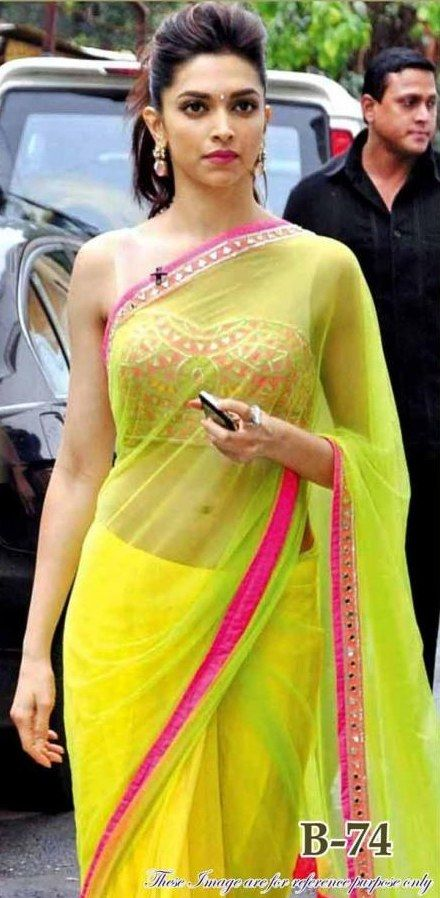sister of the bride - mehendi Deepika Lemon yellow saree ...