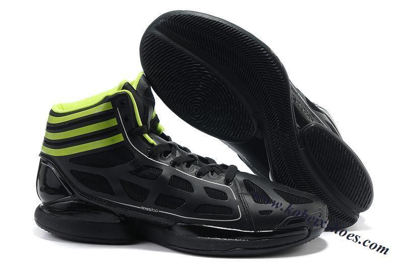 Adidas Adizero Strana Luce Derrick Rose Kobe Scarpe Nero - Verde Kobe Rose Ix 93e490