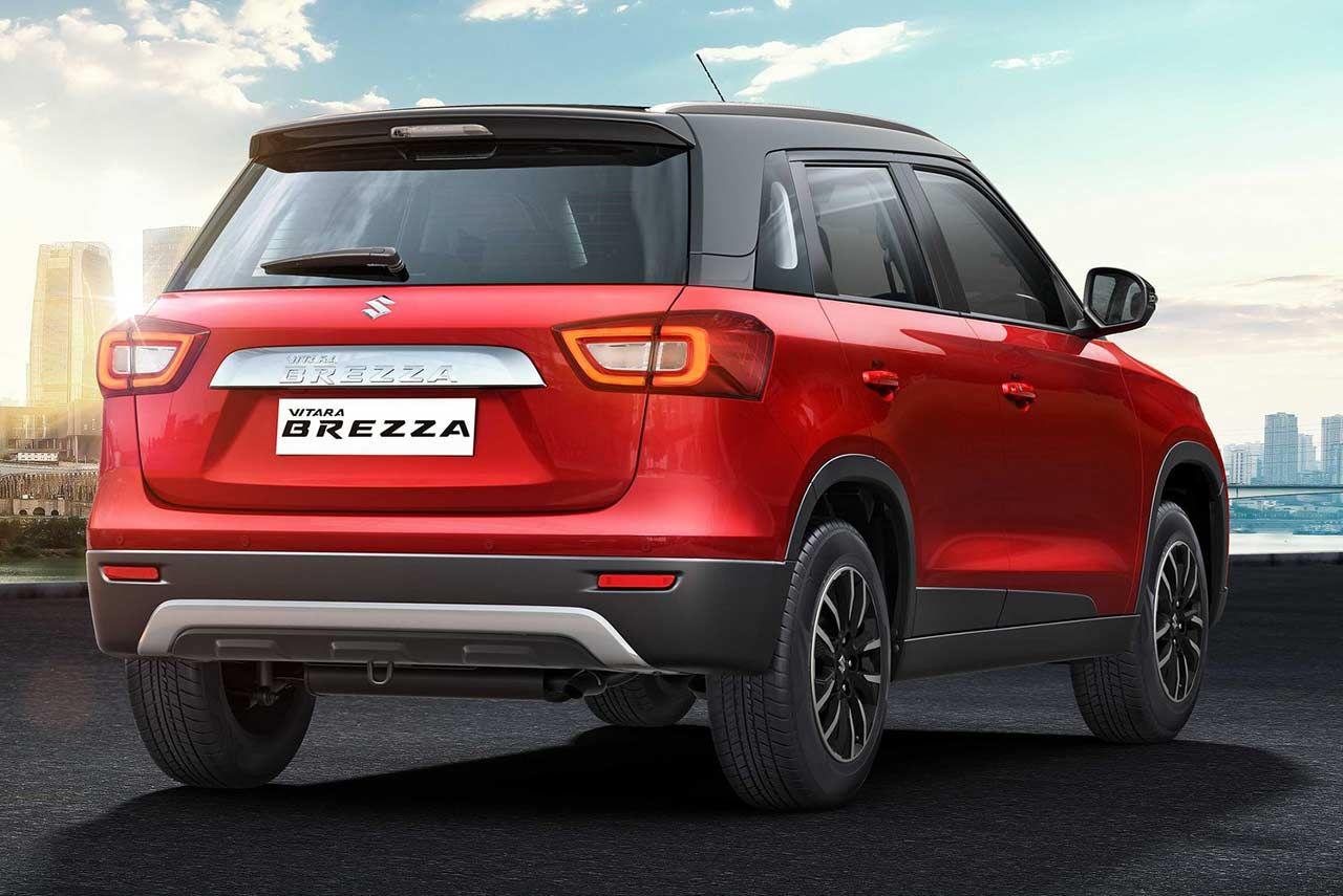 2020 Maruti Suzuki Vitara Brezza Bs6 Petrol Unveiled Autobics In 2020 Brezza Petrol Reverse Parking